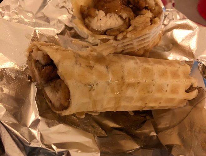 Maple Chicken Waffle Roll Tucson AZ